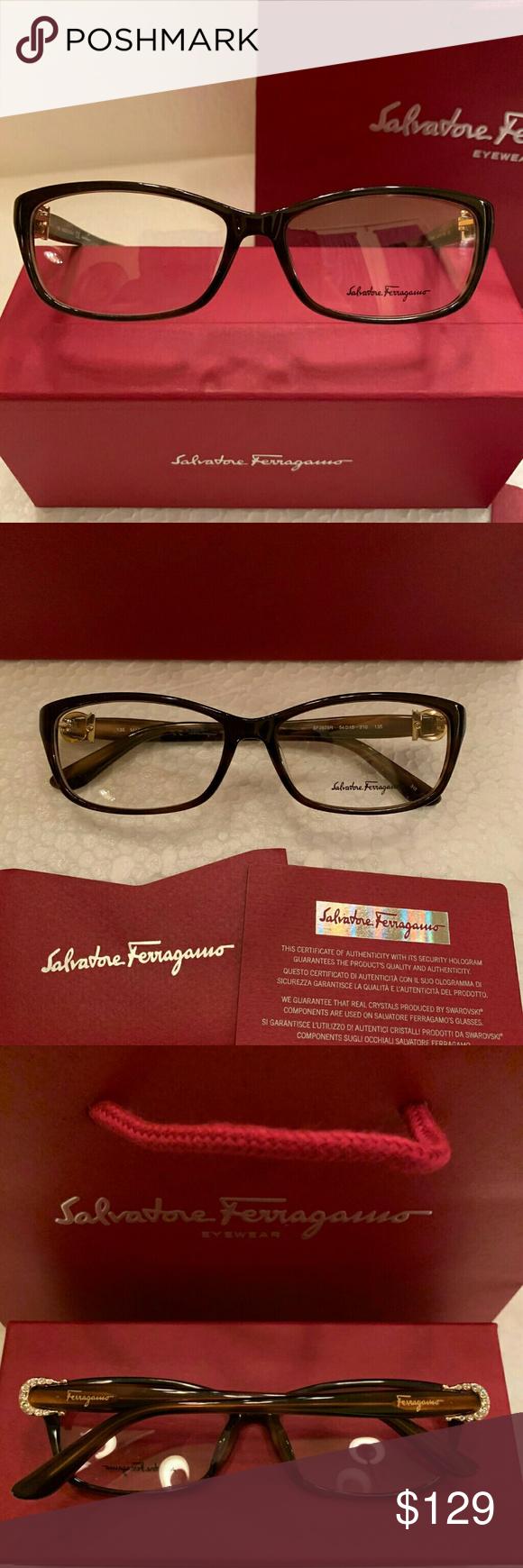 4436cecf825 Salvatore Ferragamo Eyeglasses Frame Style SF2629R Salvatore Ferragamo  Eyeglasses Frame SF2629R Rich Tortoise Frame   Gold