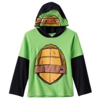 Teenage Mutant Ninja Turtles Michelangelo Hooded Costume Tee - Boys 4-7