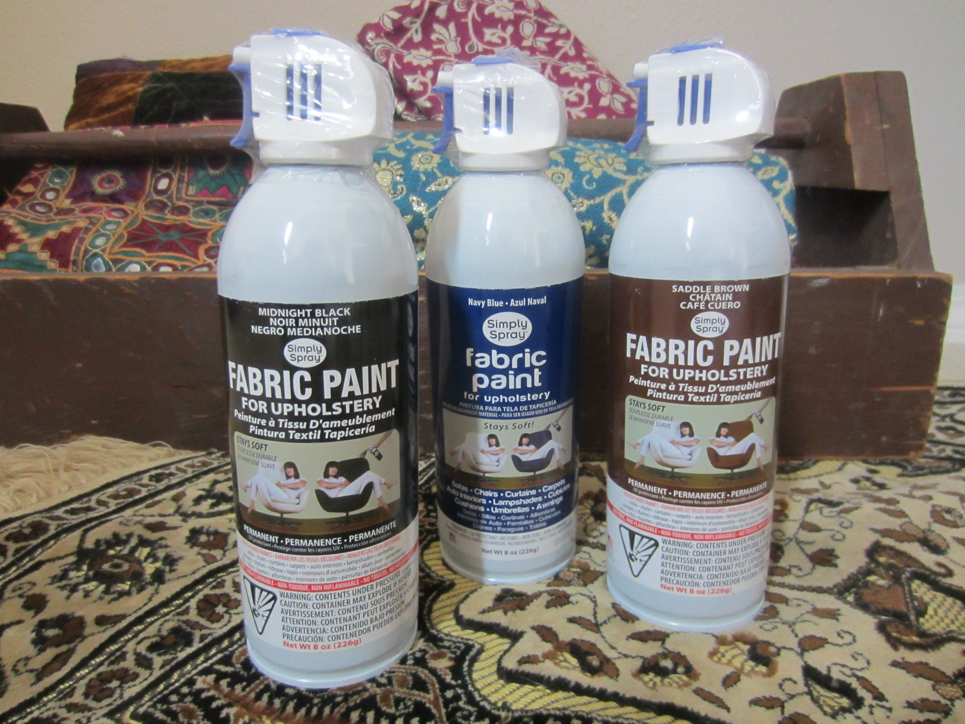Simply Spray Diy Inspired Fabric Spray Paint For Upholstery Get A Cheapy Cheap Chair And Just Fabric Spray Paint Fabric Paint Diy Simply Spray