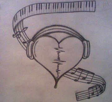 Pin By Hannah Madsen On Tattoos3 In 2019 Music Drawings