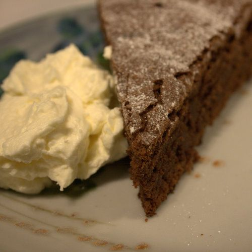Chocolate and Ginger Cake-1