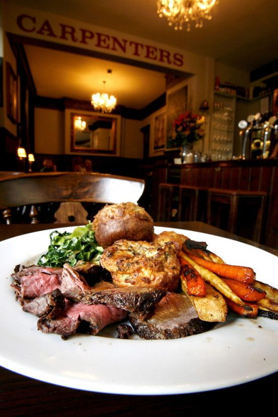 Sunday Lunch At The Carpenters Arms Stamford Brook London Http