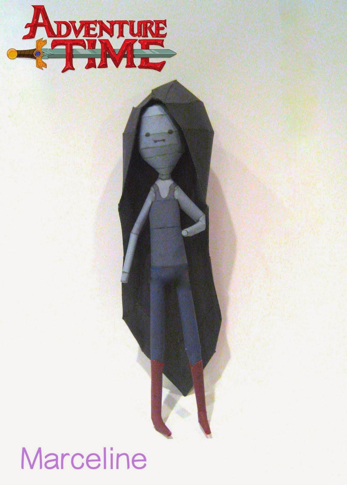 Papercraft Adventure Time Marceline The Vampire Queen Papercraft4u