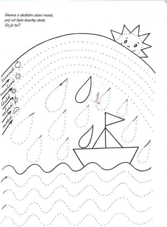 Eğlenceli çizgi çalışma Sayfaları Okul öncesi çizgi çalışmaları