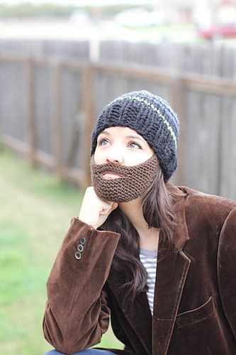 beard hat - you know i would totally wear this! | Knits ...