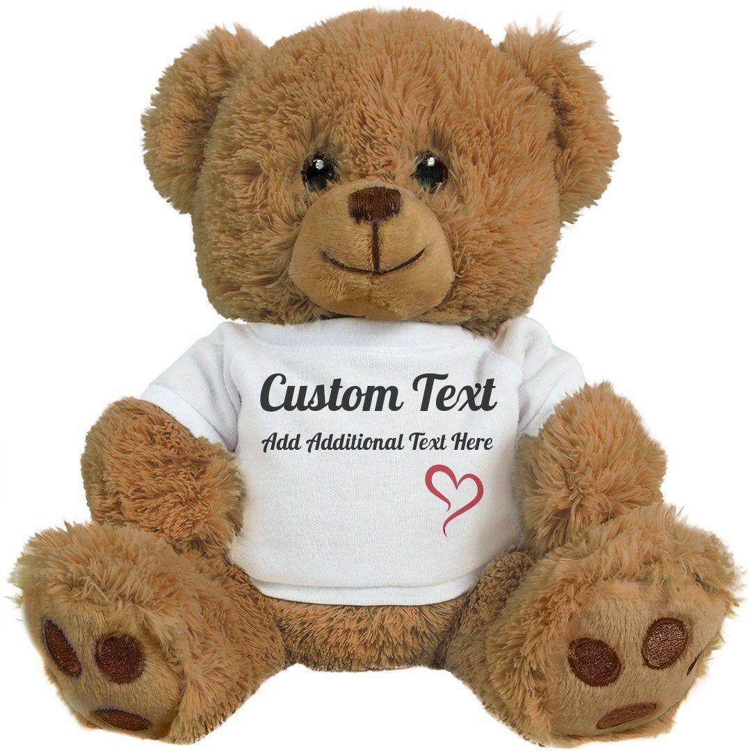 Teddy Bear Clothesteddy Bear Shirtcustom Baby Etsy Teddy Bear Gifts Funny Teddy Bear Teddy Bear Stuffed Animal [ 1080 x 1080 Pixel ]