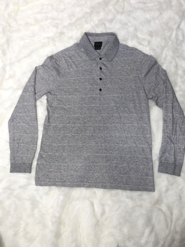 0150ed9c46e14a Lacoste Men s Long Sleeve Polo Shirt Grey Size 5 Design in France Made in  France  fashion  clothing  shoes  accessories  mensclothing  shirts (ebay  link)