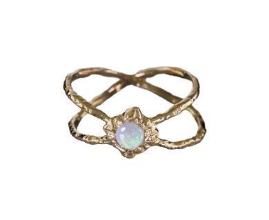 Communion by Joy - Infinite Shield Opal Ring in Designers Communion by Joy Rings at TWISTonline