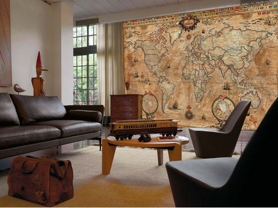 These huge wall mural atlas maps by designers rayworld are intended these huge wall mural atlas maps by designers rayworld are intended to be pieces of art gumiabroncs Gallery