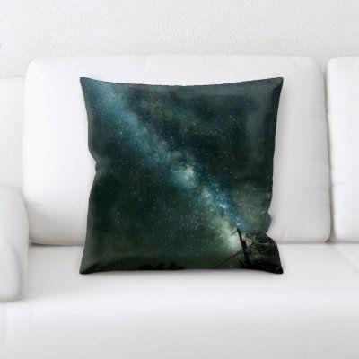 Ebern Designs Everette Throw Pillow Throw Pillows Floral Throw Pillows Wool Throw Pillows