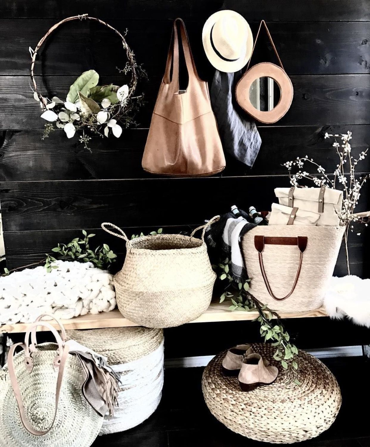 Entry Design by Urbanology urbanologydesigns rustic