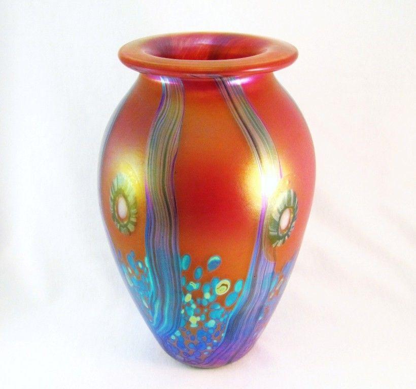 HD0127 - Handmade Eickholt Glass Vase (SOLD)