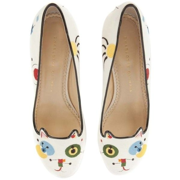 The Cheapest For Sale Cheap Sale Pre Order Pre-owned - Patent leather flats Charlotte Olympia Pick A Best Sale Online Cheap Sale Purchase Online Cheap Online q9BXkv29hV