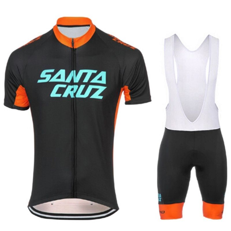 Summer Short Sleeve Cycling Jersey Set Pro Team Quick Dry Ropa Ciclismo  Bike Jersey Silicon Gel 61c719d1b