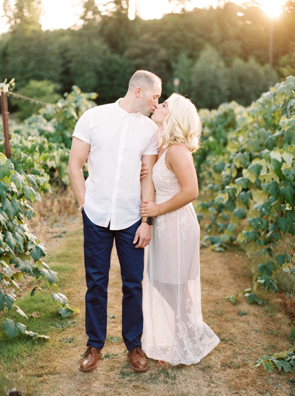 Chateau Ste Michelle Winery Engagement Woodinville, WA