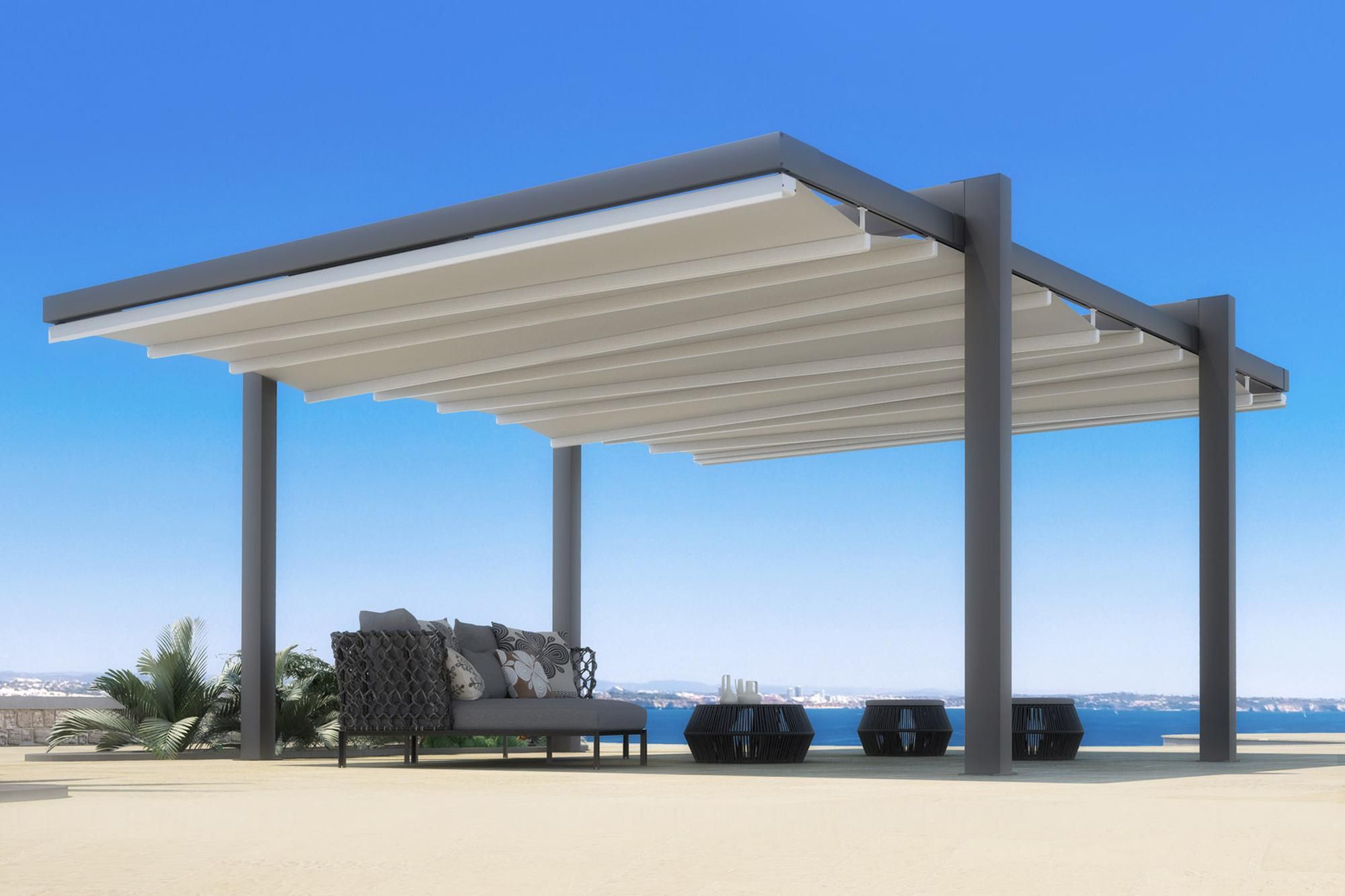 Retractable Waterproof Commercial Residential Free Standing Patio Deck Pergola Cover Awning Aluminum Pergola Pergola Building A Pergola