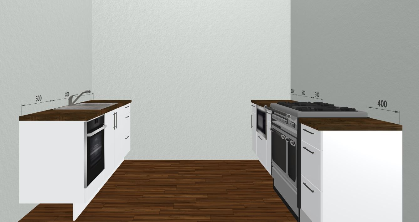 Create Your Own Design For A Small Space Kitchen With The Free 3D Best Kitchen Design Planner Free 2018