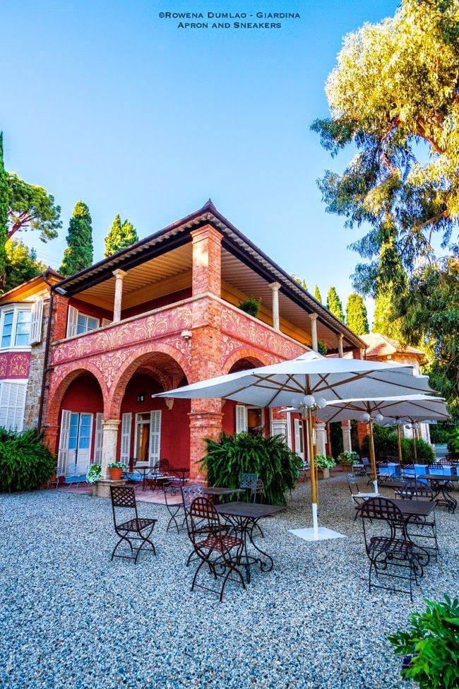Villa della Pergola in Alassio (Italian Riviera) Pergola