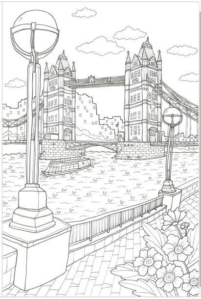 GRACE LONDON [MADE IN KOREA] Coloring Book For Children
