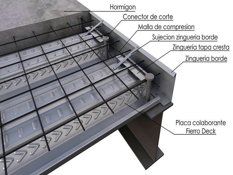 Altura de losa cero buscar con google detalles for Construccion de gradas de concreto