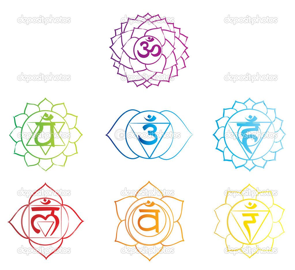 chakra symbol stock illustration 23509399 research