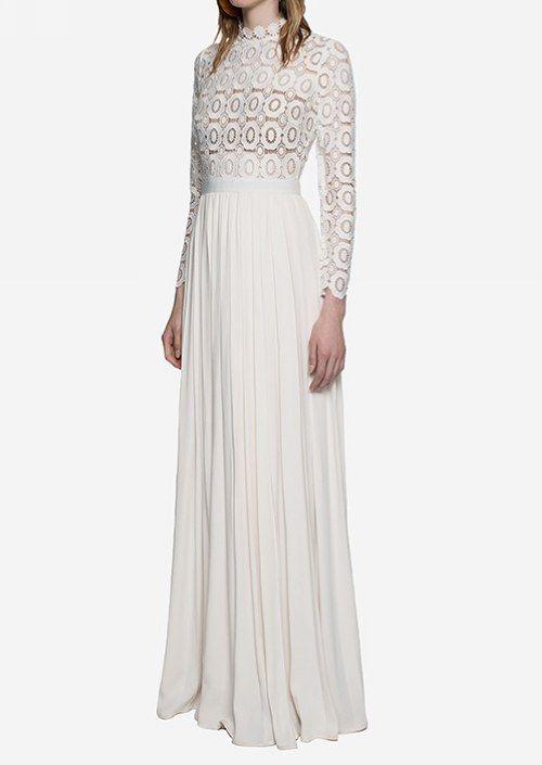 Fashion 71 net dresses maxi