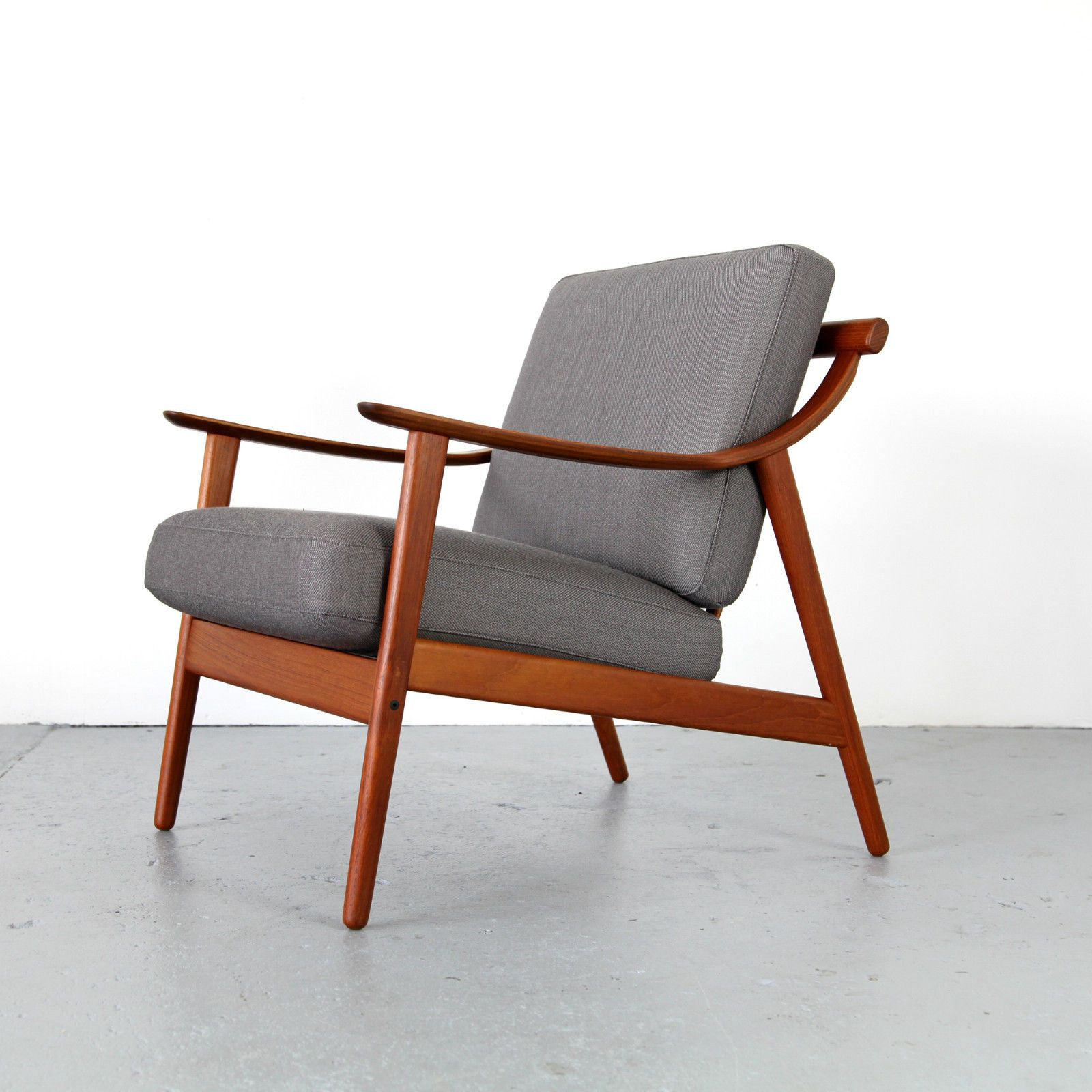 Mid Century Sessel Mid Century Modern Teak Easy Chair From Denmark 60s Danish Teak