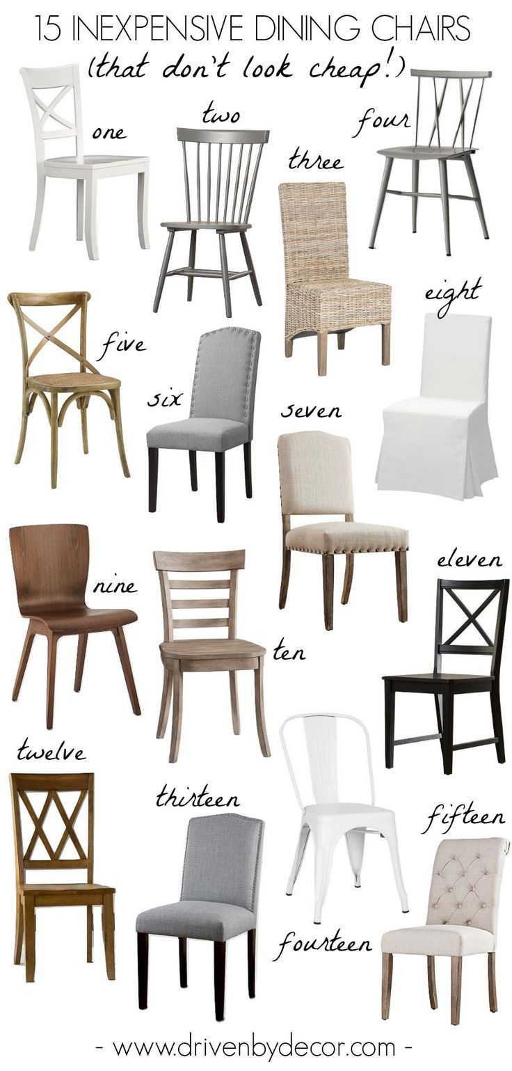 15 Inexpensive Dining Chairs (That Don't Look Cheap
