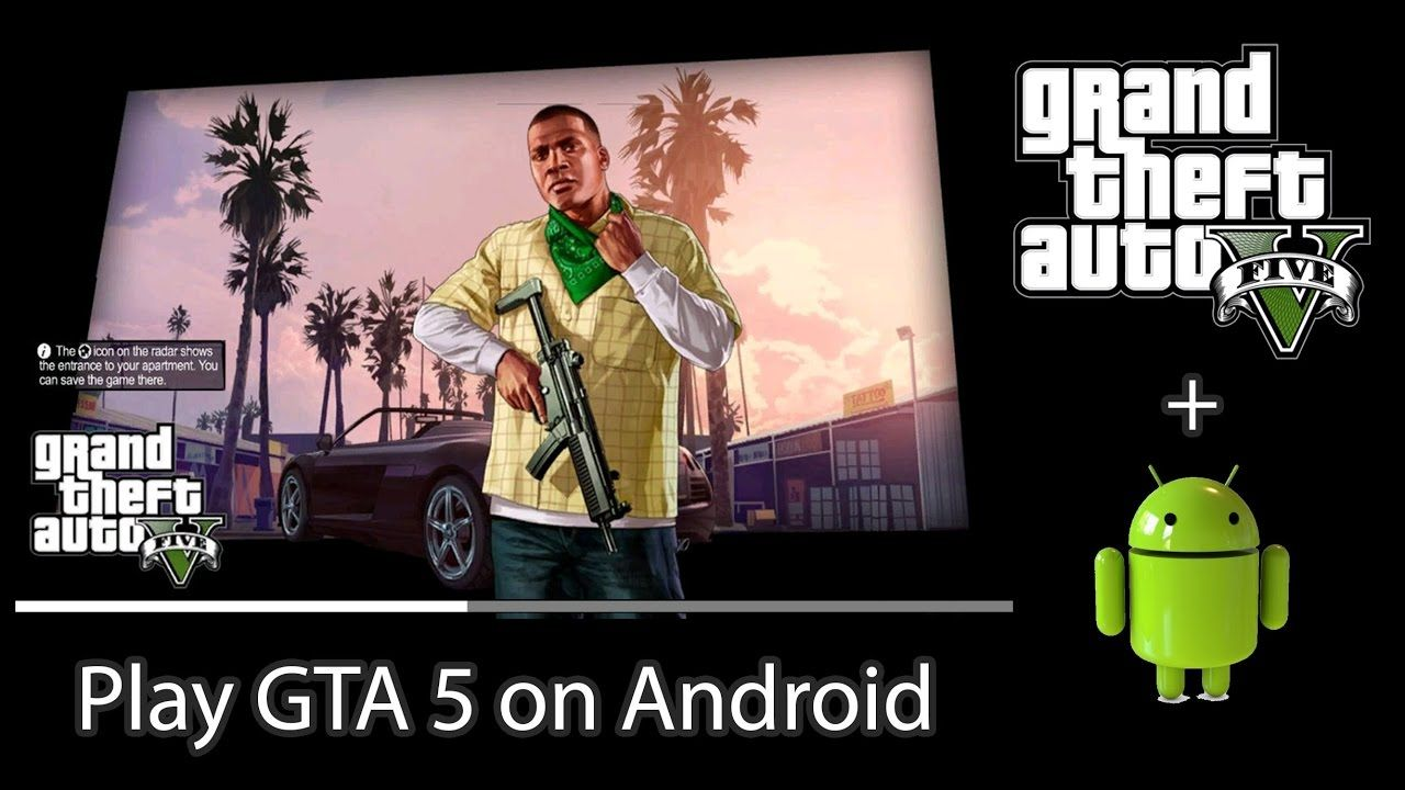 how to play gta5 on android device