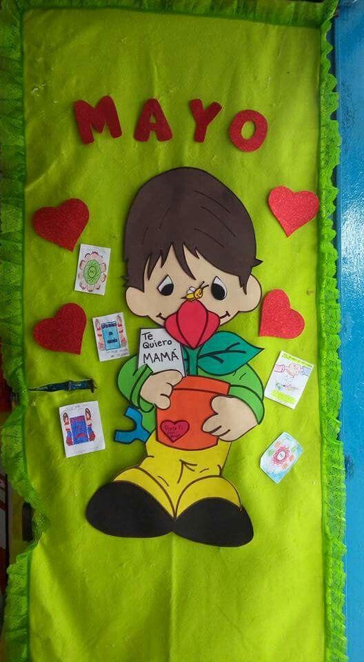 Mayo 2015 puerta periodicos murales puerta del aula for Decoracion puerta aula infantil