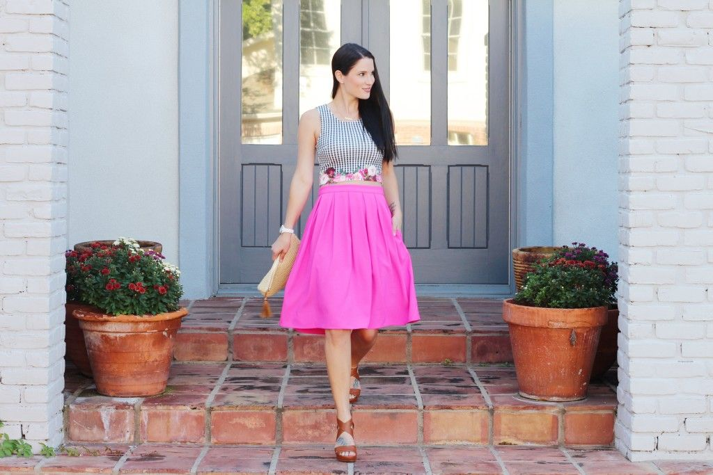 Pretty in Pink! For more outfit inspiration, follow me on Instagram @dtkaustin.