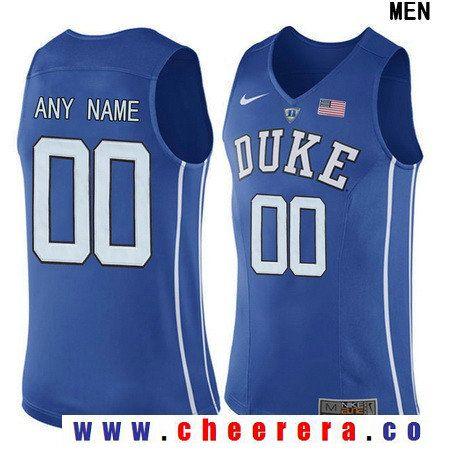 8a01290e0bfc Men s Duke Blue Devils Custom Nike Performance Elite College Basketball  Jersey - Royal Blue