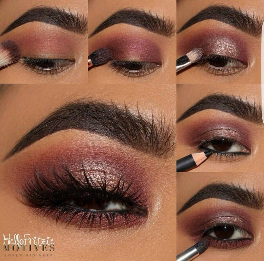 Makeup For Black Women Makeuplooksforblackwomen Lipcolorsforblackwomen Makeup For Black Women Dark Skin Makeup Skin Makeup [ 1113 x 1124 Pixel ]