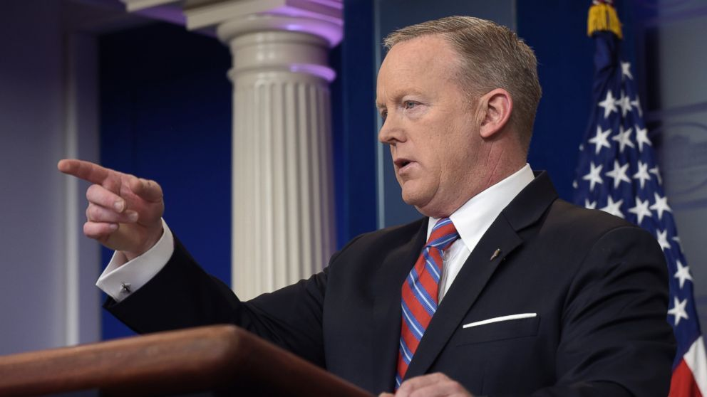 The Latest: Gronkowski pops into White House briefing