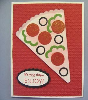 Pizza Punch Art Card 001...this would make cute ...
