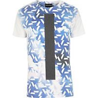 Blue Anticulture cloud print t-shirt #riverisland #RImenswear