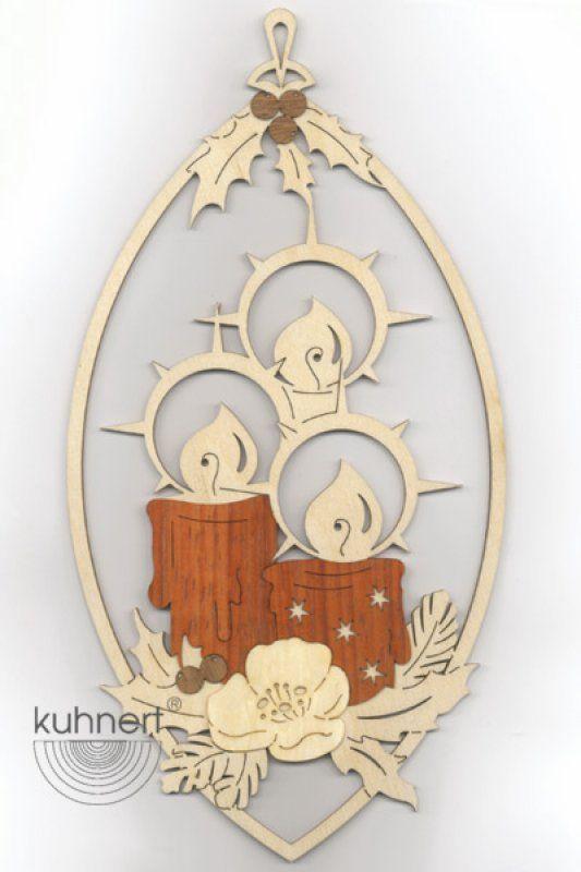Kuhnert Fensterbild Kerzen Holz Basteln Weihnachten Weihnachten Holz Weihnachtsbasteln