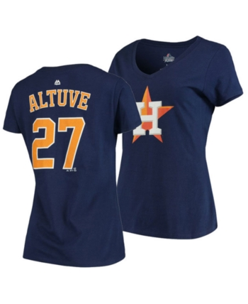 check out a5692 0d7f2 Majestic Women Jose Altuve Houston Astros Player T-Shirt in ...
