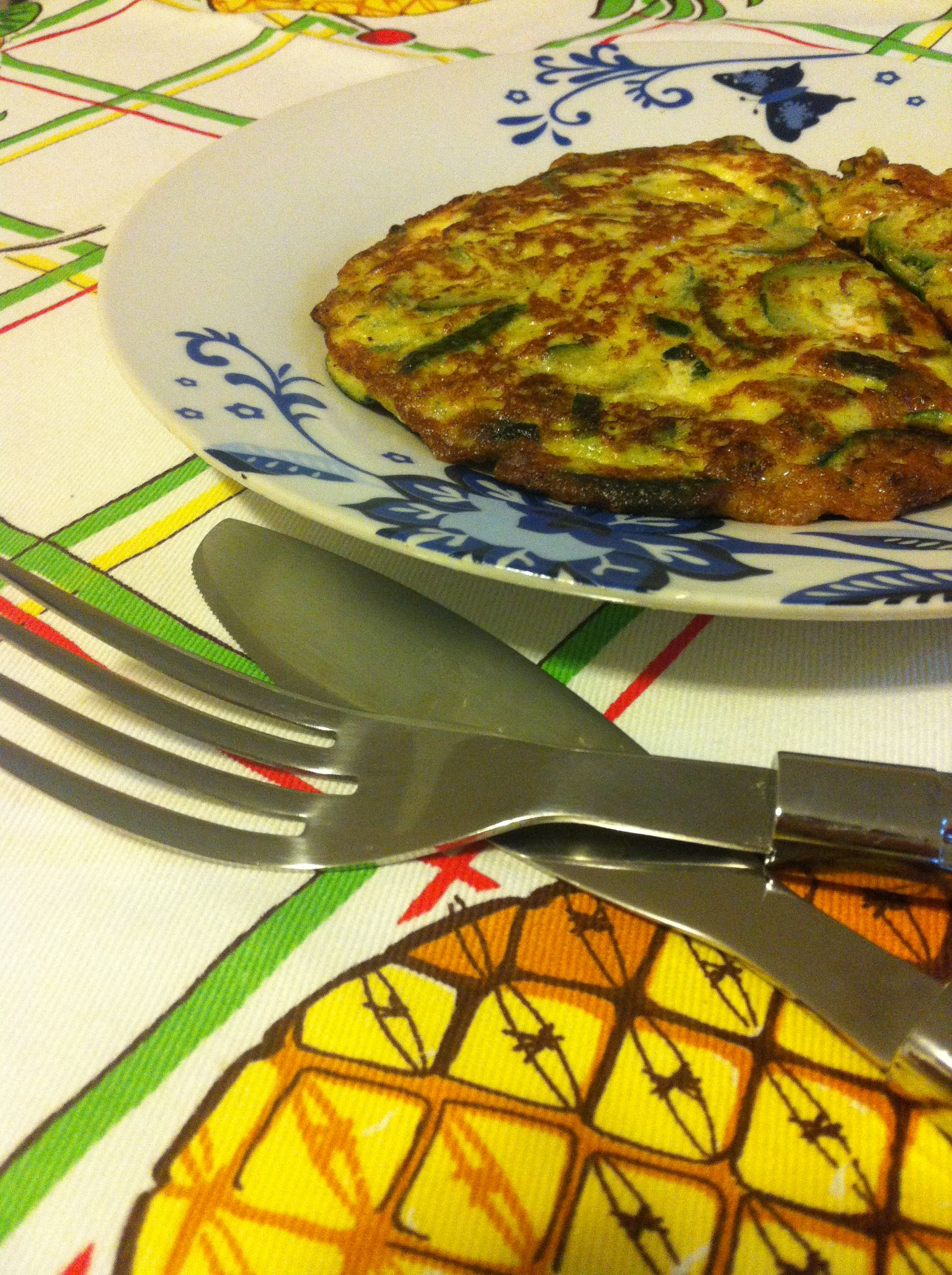 My zucchini omelet.. So good