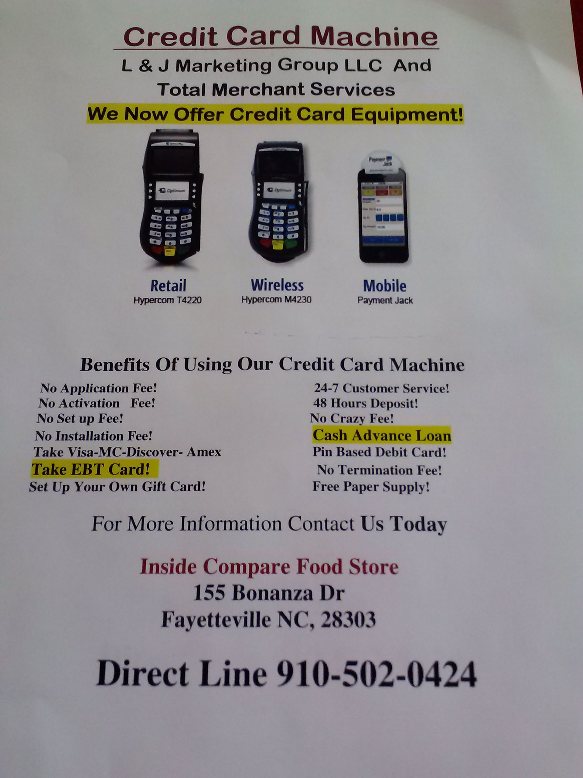Need a Credit Card Machine for your business? We have Leasing and ...