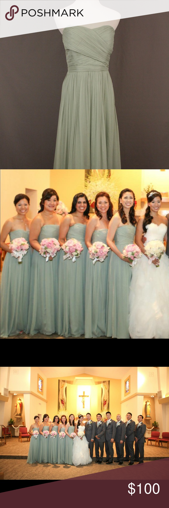 Bridesmaidj crew strapless dress dusty shale dusty shale bridesmaid dressj crew strapless dusty shale beautiful and very popular dusty shale colored ombrellifo Choice Image