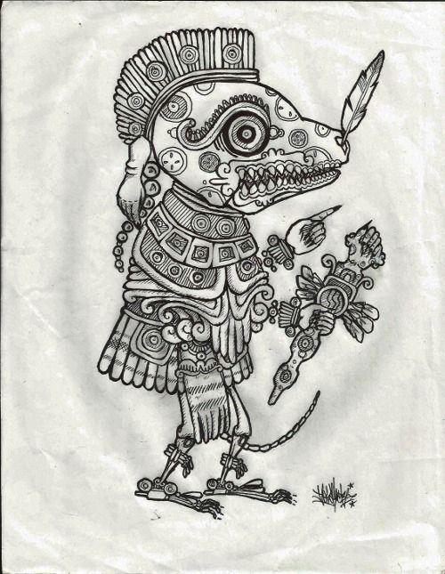 Mictlantecuthli Xoloitzcuintle Aztec N Mayas En 2019