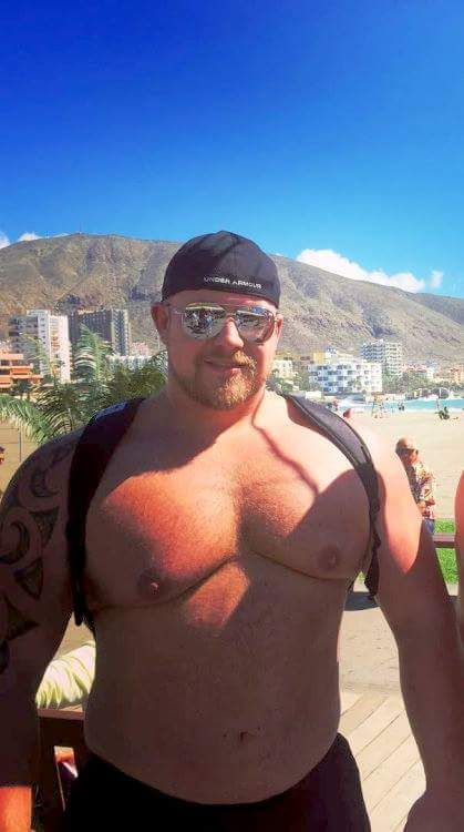 Bear and muscle