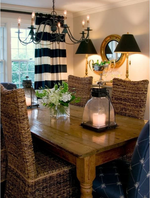 Nantucket Beach Home Decorated To Perfection | Decorating, Beach