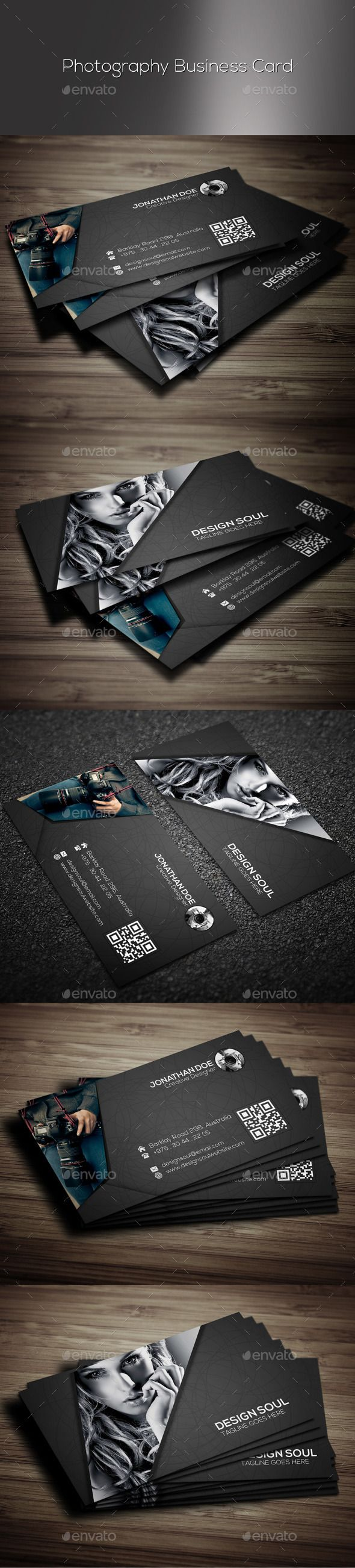 Photography Business Card | Photography business cards, Photography ...