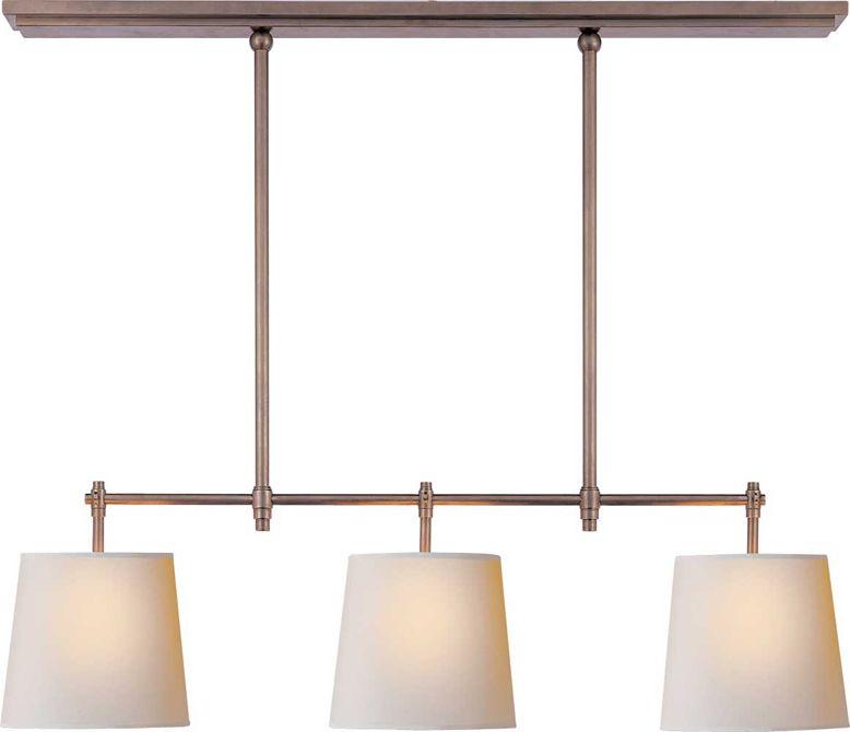 Bryant small billiard light something similar over kitchen table polished nickel