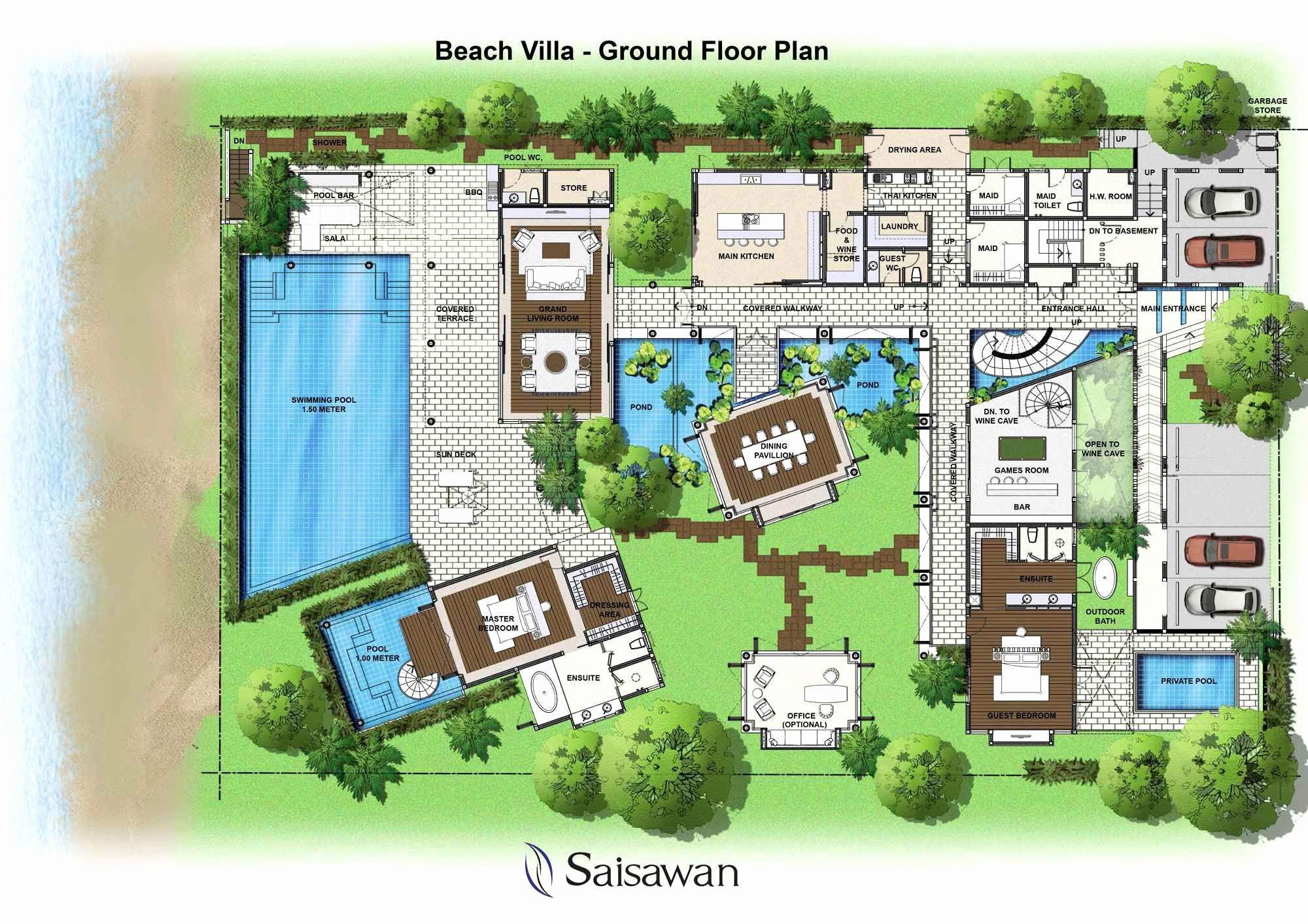 Estate Home Plans Designs Luxury House Plans Beach House Floor Plans House Plans