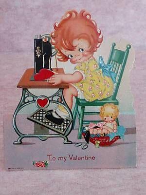 sewing valentine