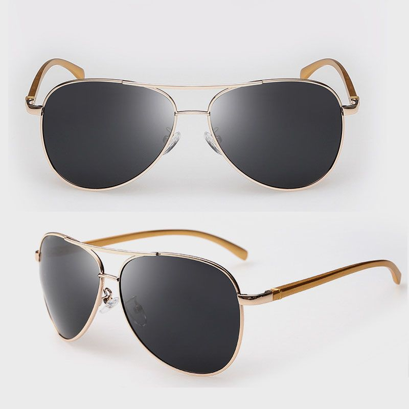 Love this polarized sunglasses with gold frame,fashion but not too show off,just order one for this summer. #Sunglasses #Accessories #fashion #style