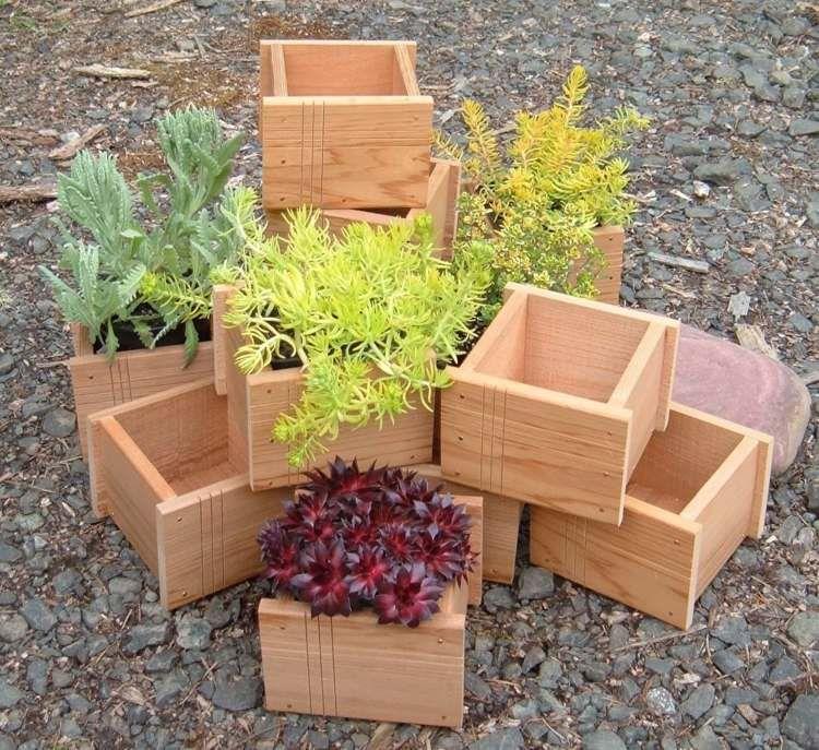 jardinire en bois diy fabriquez vos propres bacs fleurs - Fabriquer Une Jardiniere En Bois